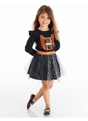 Mushi Wild Tüllü Kız Elbise Renkli
